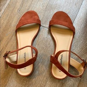 Rust Colored Heels